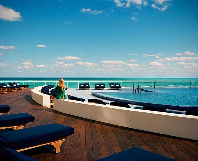 """Gansevoort South""  TOP 10 Finest Luxury Resorts in Miami Gansevoort South"