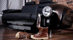 """sofa Made by Real Car Parts"" Furniture Collection made by Real Car Parts Unique Furniture Collection made by Real Car Parts sofa Made by Real Car Parts 740x491 238x130"