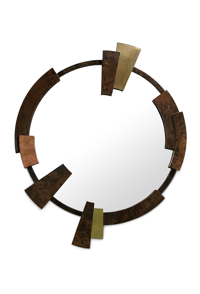 """""""KAAMOS Mirror""""  Design News: New pieces in the ICFF 2014 KAAMOS Mirror"""