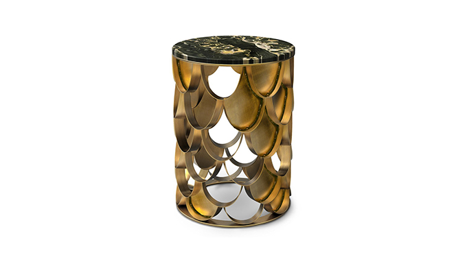 """""""KOI Side Table""""  Design News: New pieces in the ICFF 2014 KOI Side Table"""