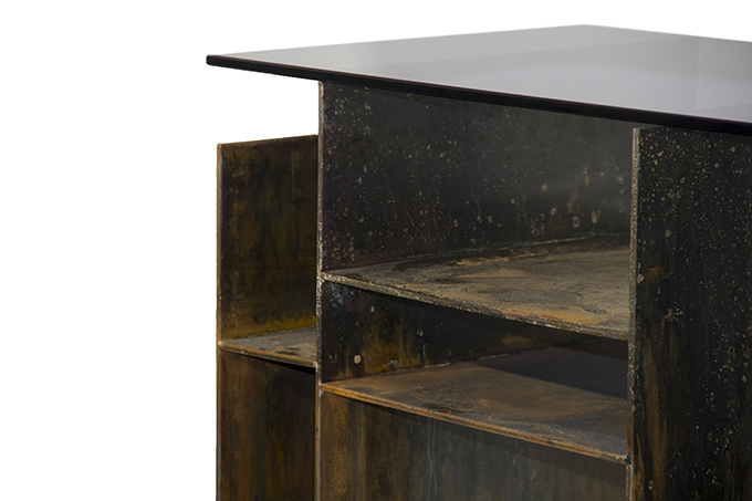 """""""KYAN Console""""  Design News: New pieces in the ICFF 2014 KYAN Console1"""