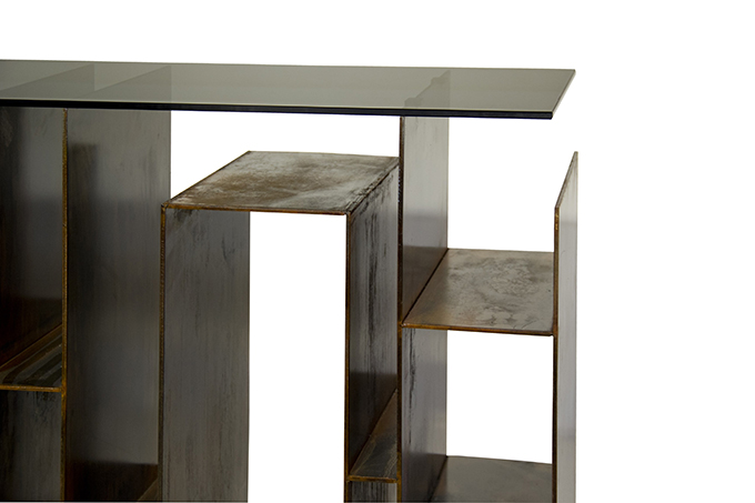 """""""KYAN Console""""  Design News: New pieces in the ICFF 2014 KYAN Console2"""