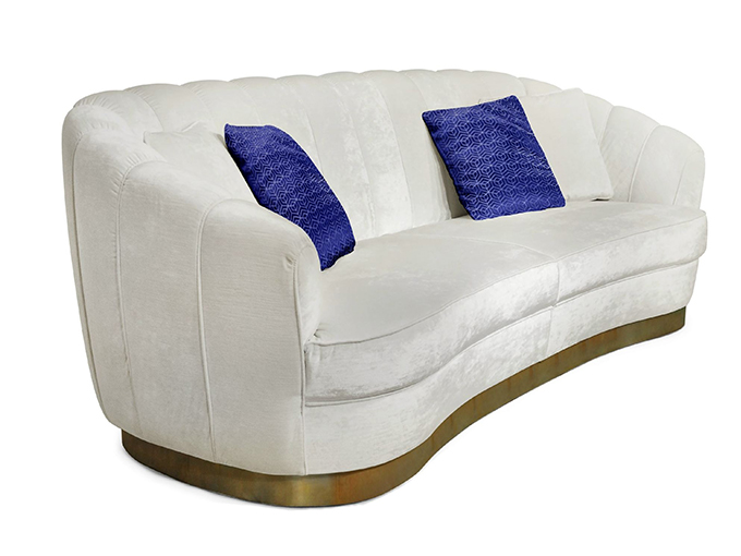 """""""PEARL Sofa""""  Design News: New pieces in the ICFF 2014 PEARL Sofa"""