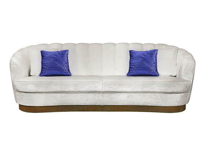 """""""PEARL Sofa""""  Design News: New pieces in the ICFF 2014 PEARL Sofa1"""