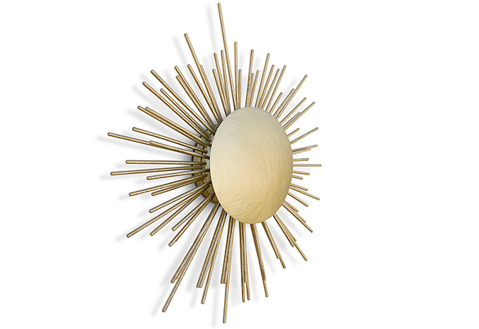 """""""SOLEIL Wall Light""""  Design News: New pieces in the ICFF 2014 SOLEIL Wall Light1"""