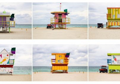 """The Most Beautiful Lifeguard Houses in Miami"""