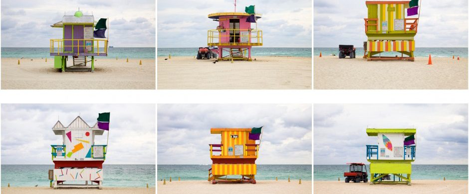 """""""The Most Beautiful Lifeguard Houses in Miami"""""""