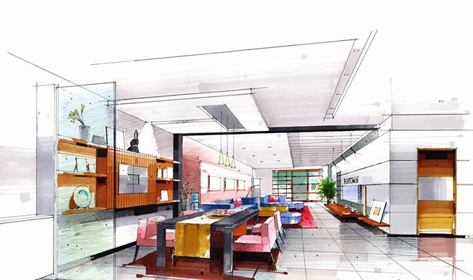 The Best Design Sketches II   Miami Design District