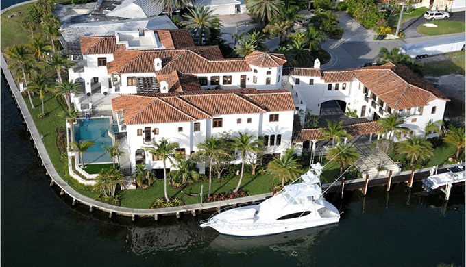 """Celebrity House in Miami: Kim Kardashian"""