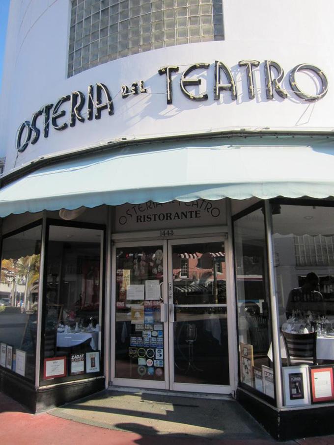 """""""Osteria del Teatro""""  Best Miami Design Spots Osteria del Teatro"""