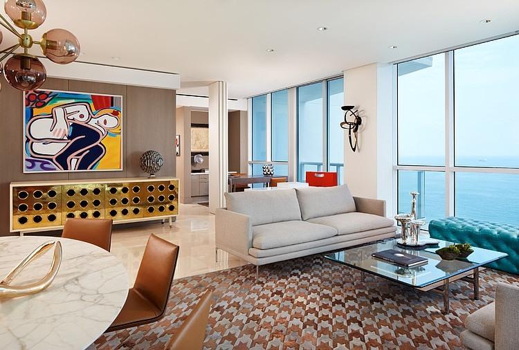 Captivating ... Funky Miami Beach Residence By Allen Saunders Funky Miami Beach  Residence By Allen Saunders 003 Miami