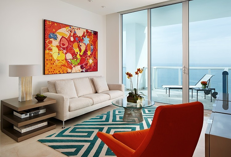 Funky Miami Beach Residence by Allen Saunders