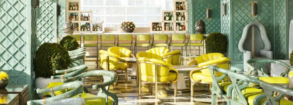 THE VICEROY MIAMI interiors designed by Kelly Wearstler