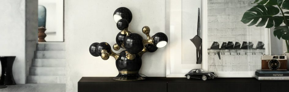 Modern Table Lamps, TOP 50 Modern Table Lamps, industrial lamps, bedside table lamps, midcentury modern lamps  Top 15 industrial design table lamps for your living room Living Room Ideas 2015 Top 5 Modern Table Lamp delightfull Atomic Sputnik Multi Light Sculptural Sphere Sideboard Lamp 01 944x300