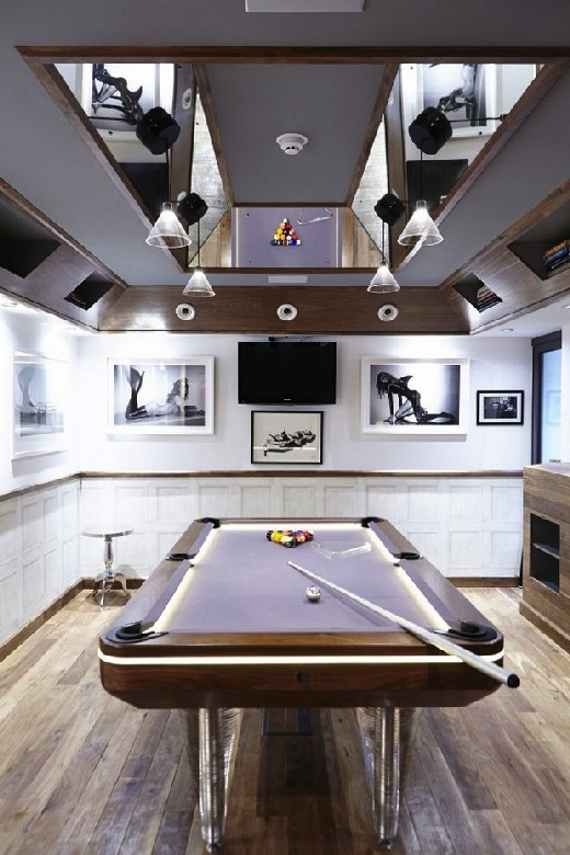 15 Playing Tables for a Modern Gaming Room modern gaming room 15 Playing Tables for a Modern Gaming Room Snooker Modern