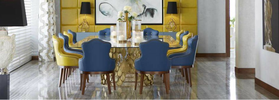 velvet dining chairs, leather dining chairs, design dining chairs, blue dining chairs, green dining chairs, Modern dining chairs , luxury dining room, modern dining room  Top 15 Modern Dining Chairs for a luxury dining room cover10 944x340
