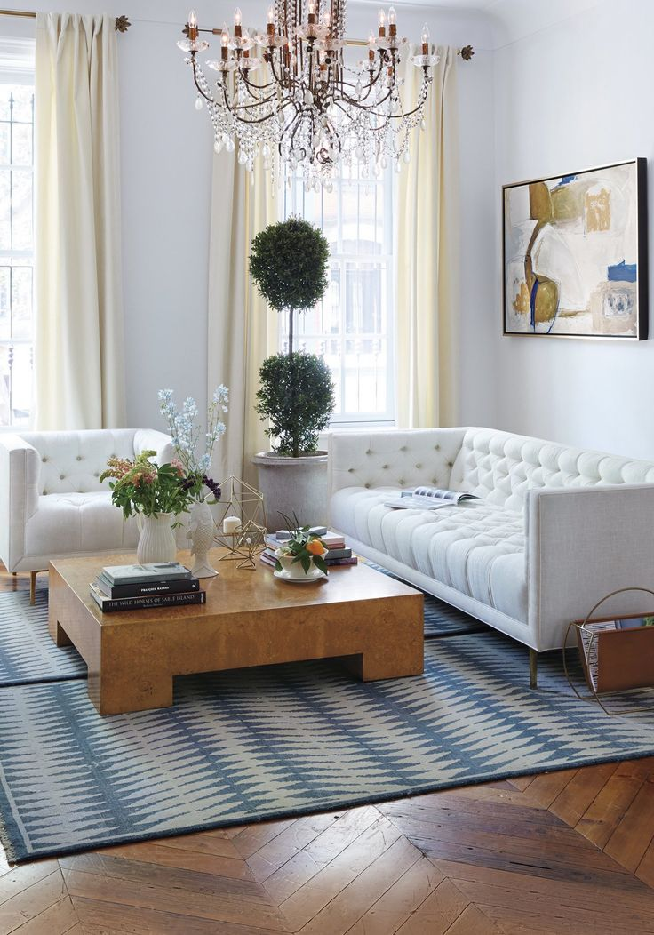 Luxury Living room ideas with modern center tables | Miami ...