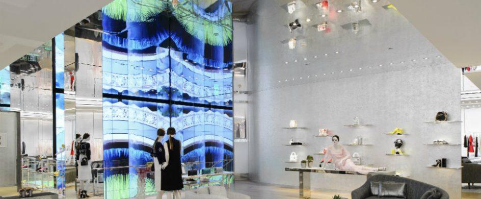 interior design Miami, dior interior design projects, Miami design district , Miami luxury stores, Miami top brands Dior store The new Dior store at Miami Design District cover 944x390