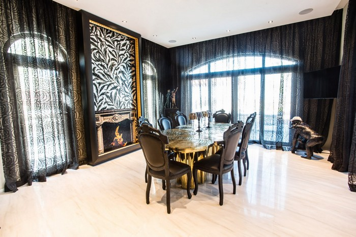 Interior design project: Gold inspirations gold inspirations Interior design project: Gold inspirations Exclusive design projects Saadiyat Private Residence boca do lobo news I Lobo you7