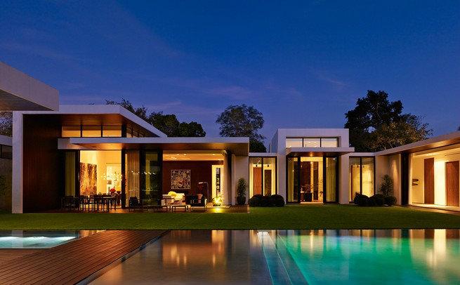 Alex Rodriguez Modern Home alex rodriguez modern home Celebrities Home Florida: Alex Rodriguez Modern Home 0616 AD RODR07 01 sq nolights 1