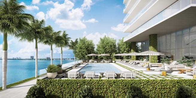 Jean louis deniot designs new elysee tower in miami for Pool design miami