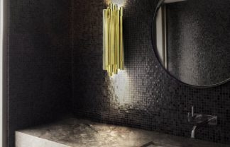 BATHROOM DESIGN 5 TIPS TO CHANGE  TO YOUR BATHROOM DESIGN delightfull brubeck restaurant wall lamp with brass tubes 324x208