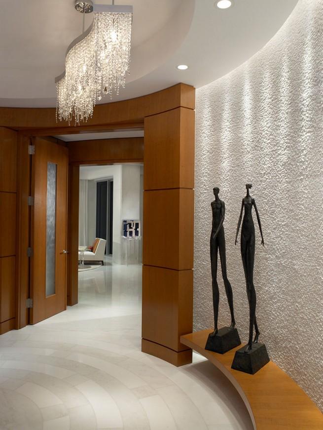 Alene Workman alene workman Ocean Penthouse by Alene Workman Design  interieur design lumineux appartement