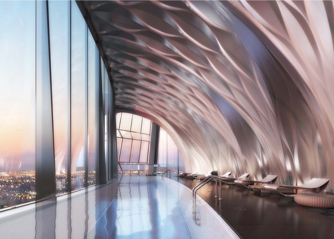 One Thousand Museum Interiors by the Legendary architect Zaha Hadid architect Zaha Hadid One Thousand Museum Interiors by the Legendary architect Zaha Hadid zaha hadid one thousand museum residential tower miami dezeen ss 1