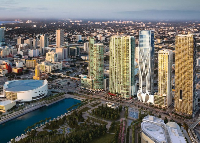 architect Zaha Hadid architect Zaha Hadid One Thousand Museum Interiors by the Legendary architect Zaha Hadid zaha hadid one thousand museum residential tower miami dezeen ss 12