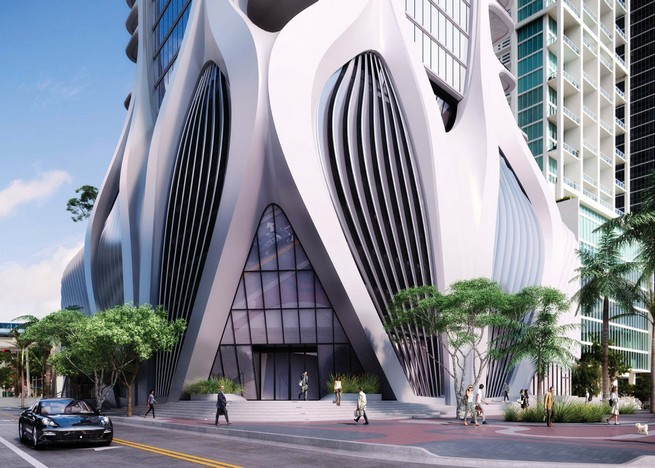 zOne Thousand Museum Interiors by the Legendary architect Zaha Hadid architect Zaha Hadid One Thousand Museum Interiors by the Legendary architect Zaha Hadid zaha hadid one thousand museum residential tower miami dezeen ss 9