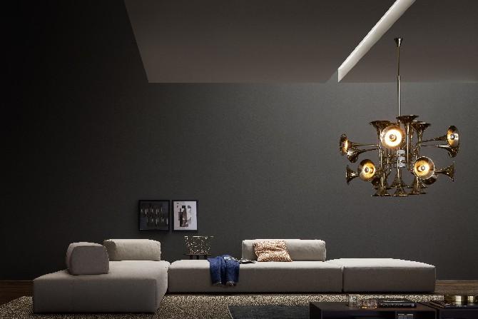 Vintage Industrial Style  Vintage Industrial Style Vintage Industrial Style – 100 Best Interior Designs 15 mid century modern living room design novamobili italy store botti ceiling lamp