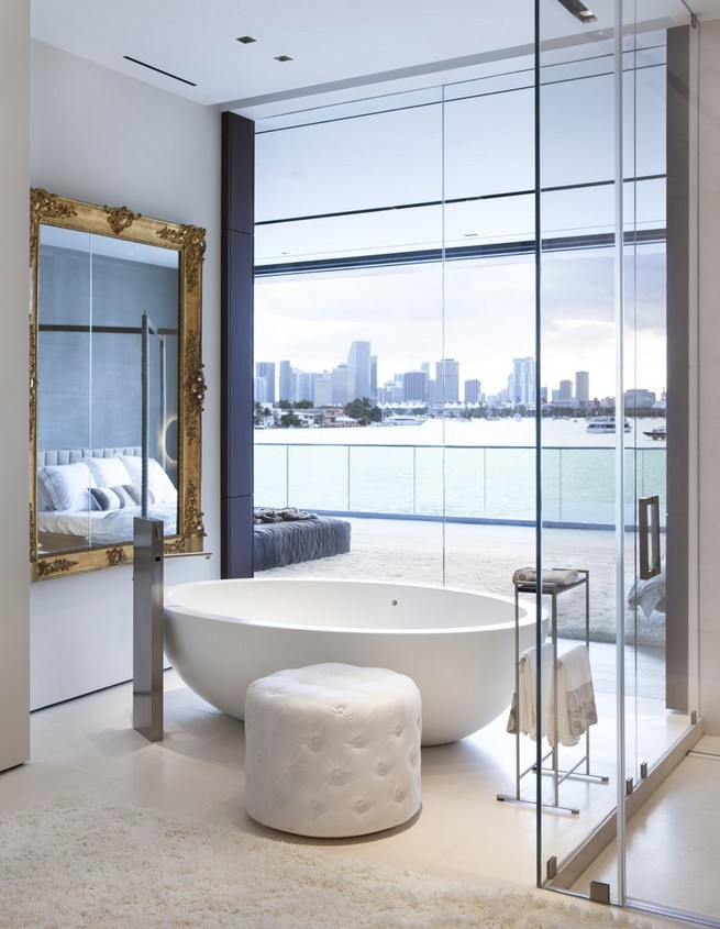 Dazzling Modern Home By Choeff Levy Fischman And Charlotte Dunagan Miami Design District Page 9