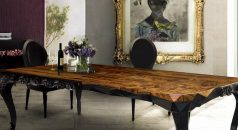 Thanksgiving Day The Perfect Modern Dining Tables for the Thanksgiving Day Top 10 Black Dining Rooms that will Delight You10 e1472635766643 238x130