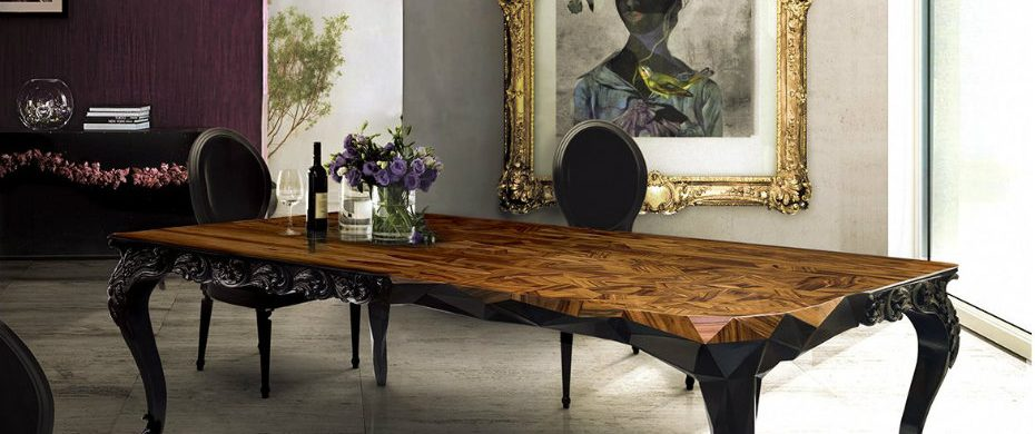 Thanksgiving Day The Perfect Modern Dining Tables for the Thanksgiving Day Top 10 Black Dining Rooms that will Delight You10 e1472635766643 930x390