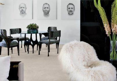 black and white living rooms MODERN BLACK AND WHITE LIVING ROOMS BY LUXE INTERIORS+DESIGN page 1 1 404x282