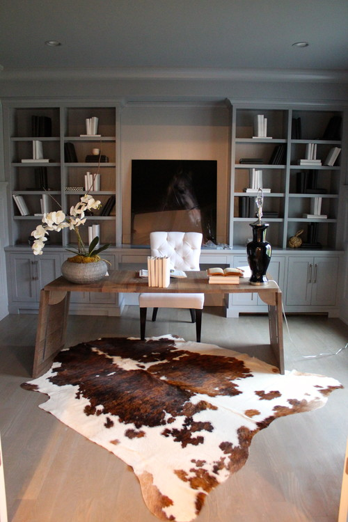inspirational home office ideas inspirational home office ideas 15 Inspirational Home Office Ideas and Color Schemes contemporary home office 1
