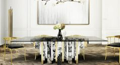 MODERN DINING TABLE 25 MODERN DINING TABLE TRENDS FOR YOUR DINING ROOM Dining Room Boca do Lobo 02 238x130