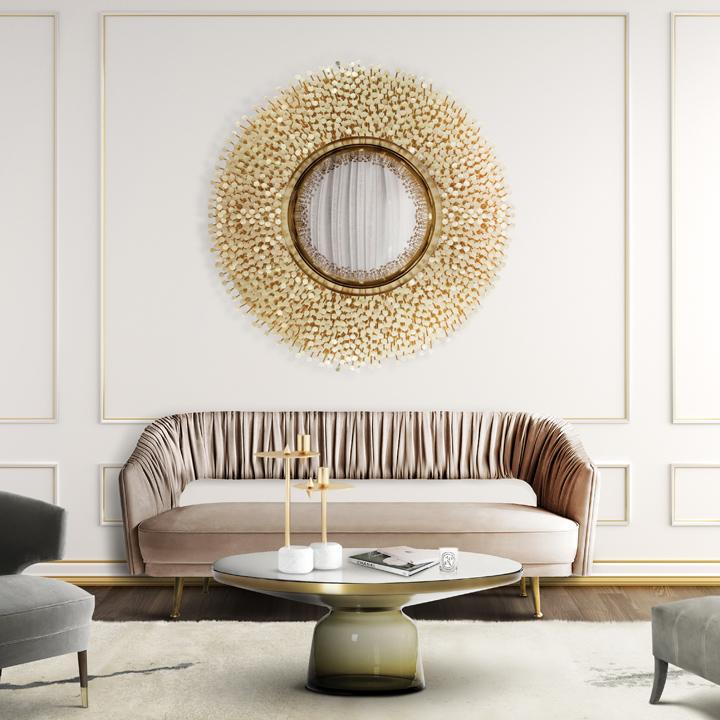 10 Shimmering Mirror Design for Living Room Mirror Design 10 Shimmering Mirror Design for Living Room boca