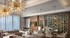 steven g Interiors by Steven G design Contemporary home at Echo Aventure ECHO Pendants Dining A new 1 238x130