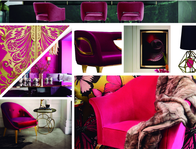home decoration home decoration THE HOTTEST COLORS TO USE FOR YOUR 2017 DESIGN PROJECTS Pink 01