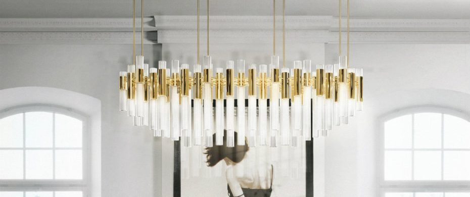 AD SHOW 2017 Lighting brands that you must visit at AD SHOW 2017 Ready to ship lighting fixtures Waterfall Chandelier 930x390